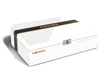 Cohiba Box Renderings white